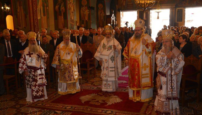 Το Αγρίνιο πανηγύρισε τον Πολιούχο του Άγιο Χριστόφορο