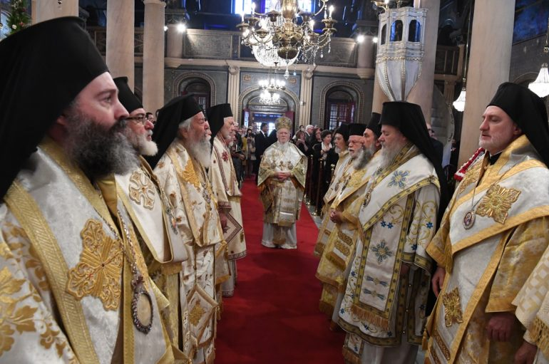 Πατριαρχική και Συνοδική Θ. Λειτουργία στην Ι. Μονή Βαλουκλή