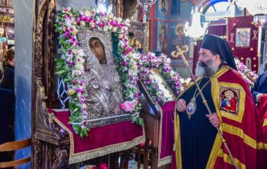 Εορτή της Παναγίας Ρευματοκρατούσης στη Γέφυρα Θεσσαλονίκης