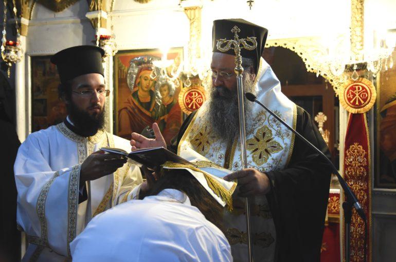 Κουρά μοναχής στην Ιερά Μονή Αγίου Γεωργίου Κορινού