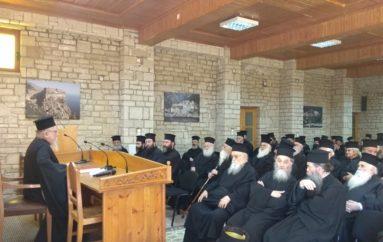 Ιερατική Σύναξη στην Ιερά Μητρόπολη Αιτωλίας