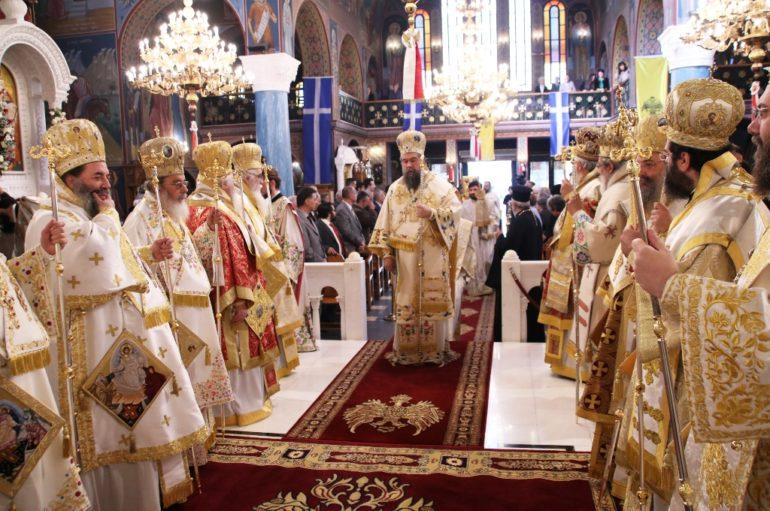 Τα Ονομαστήρια του Μητροπολίτη Σερρών Θεολόγου
