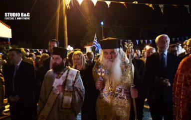 Η εορτή της Αγίας Ειρήνης στη Νέα Κίο Αργολίδος