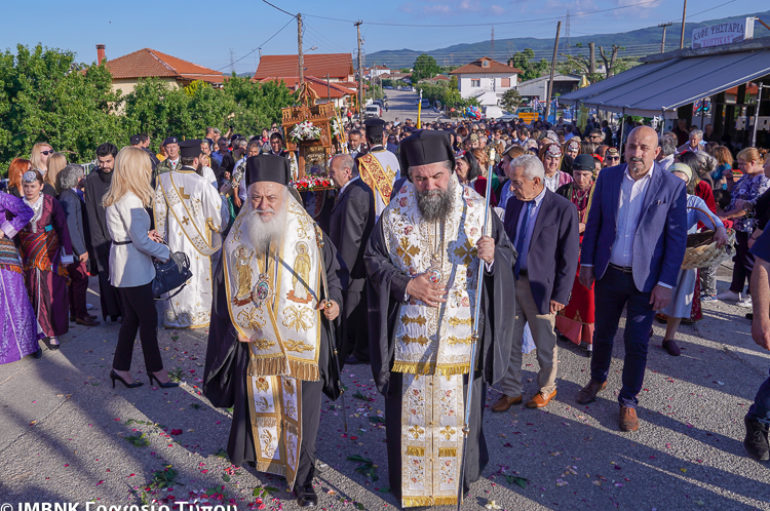 Αντίγραφο της Παναγίας Σουμελά στο Λευκότοπο Σερρών