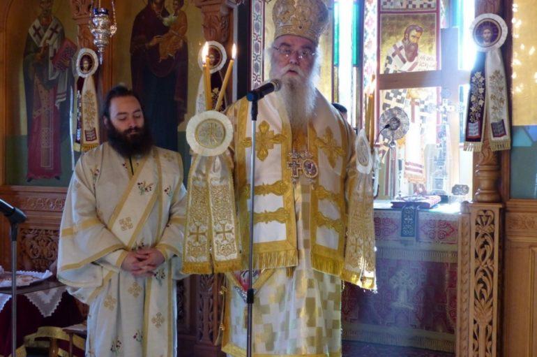 Εορτή Ανακομιδής των Λειψάνων του Αγ. Νικολάου στην Μονή Τσιριλόβου