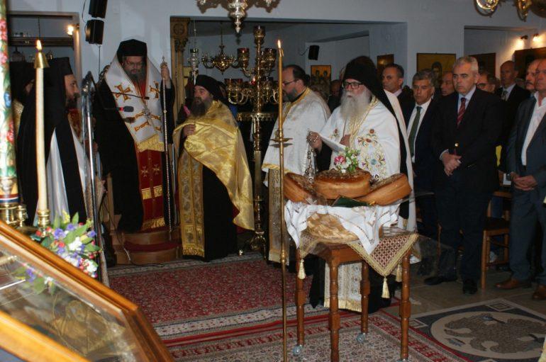 Στην Ι. Μονή Παναγίας Γλυκοφιλούσης Ραψάνης ο Μητροπολίτης Λαρίσης