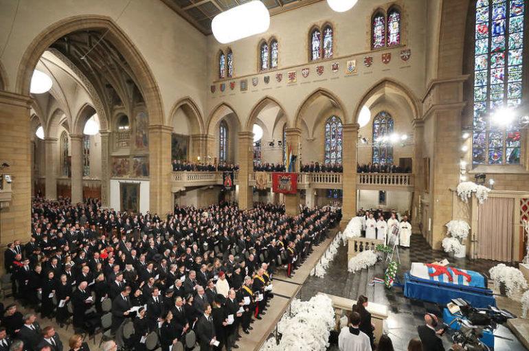 Ο Μητροπολίτης Βελγίου στην Κηδεία του Μεγάλου Δουκός Ιωάννου του Λουξεμβούργου