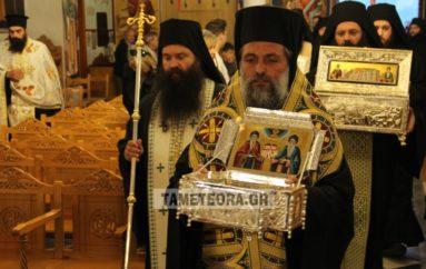 Ξεκίνησαν οι εορτασμοί Συνάξεως των Οσίων Μετεωριτών Πατέρων
