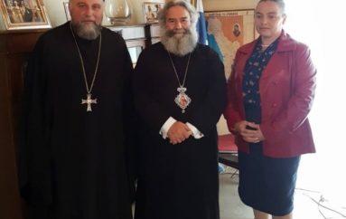 Στο Επισκοπείο Μάνης ο Υδραίος π. Ακίνδυνος Δαρδανός