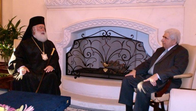 Συλλυπητήριο Γράμμα του Πατριάρχη Αλεξανδρείας για τον Πρόεδρο Χριστόφια
