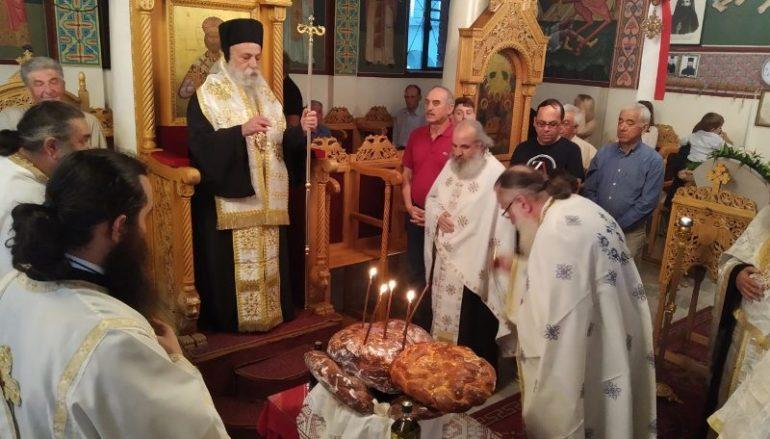Εορτή του Αγίου Πνεύματος στην Ιερά Μητρόπολη Γρεβενών
