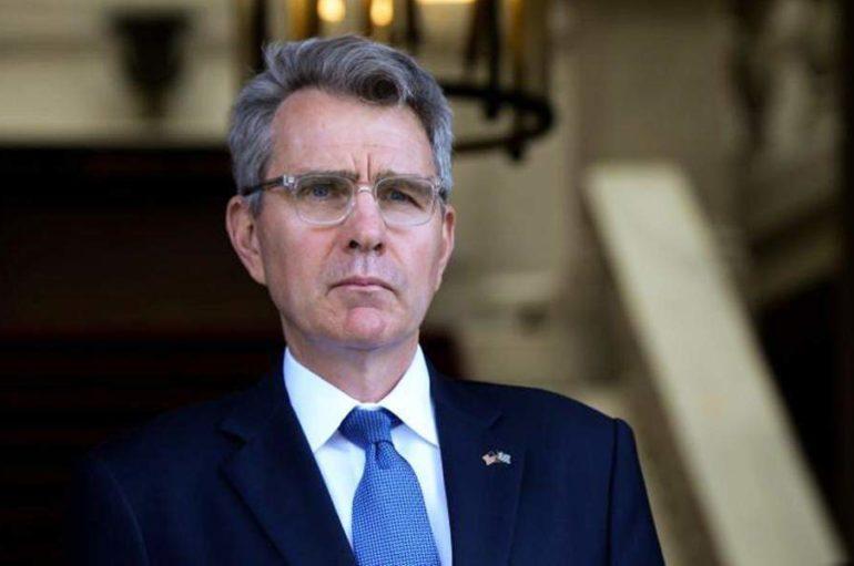 """Τζ. Πάιατ για την ενθρόνιση του νέου Αρχιεπισκόπου Αμερικής: """"Ιστορική ημέρα για Ελλάδα και ΗΠΑ"""""""