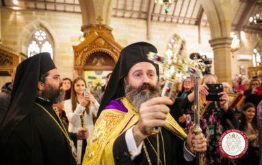 Ενθρονίστηκε ο νέος Αρχιεπίσκοπος Αυστραλίας Μακάριος