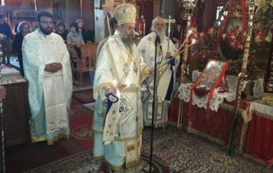 Ο Μητροπολίτης Θεσσαλιώτιδος στον Ι. Ν. Αγ. Θεοδώρων Μαγουλάδων Κερκύρας