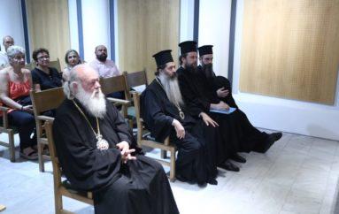 Ο Αρχιεπίσκοπος για εκκλησιαστική περιουσία, σχέσεις Εκκλησίας – Πολιτείας, μισθοδοσία Κλήρου