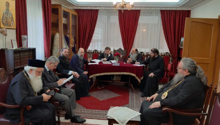 Κοινή Συνεδρίαση των Μητροπολιτών της Θεσσαλίας