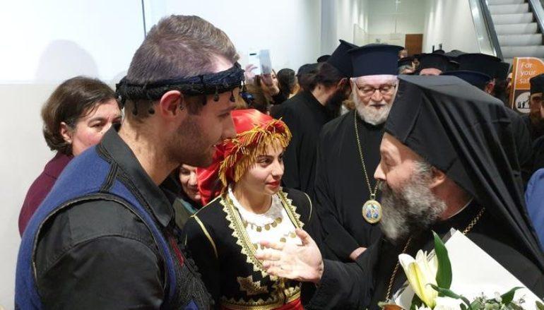 Έφτασε στην Αυστραλία ο νέος Αρχιεπίσκοπος Μακάριος