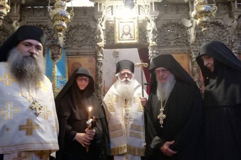 Κουρά Μοναχής στην Ιερά Μονή Παναγίας Λαμπηδόνος