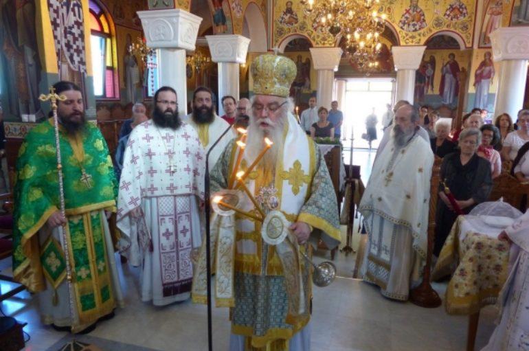 Η εορτή του Αγίου Λουκά στον Ιερό Ναό Αγίου Νικάνορα Καστοριάς