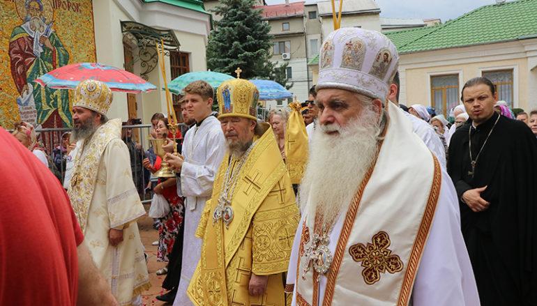 Λαμπρός ο εορτασμό του Αγ. Λουκά του Ιατρού στην Κριμαία