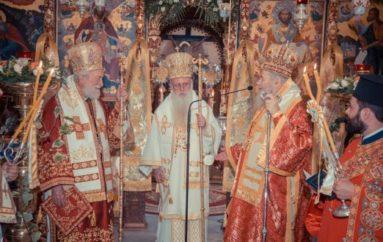 Εορτή της Πεντηκοστής στην Ι. Μονή Αγίας Τριάδος των Τζαγκαρόλων Χανίων