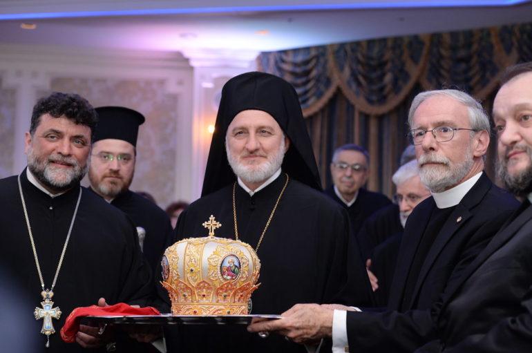 Επίσημο δείπνο προς τιμήν του Αρχιεπισκόπου Αμερικής
