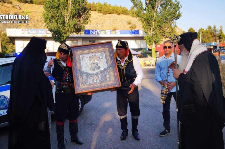 Την Εικόνα της Παναγίας Βηματάρισσας υποδέχθηκε το Ναύπλιο