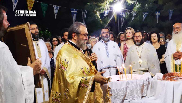 Ο Εσπερινός της εορτής των Αγίων Πάντων στην Πρόνοια Ναυπλίου