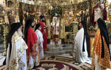 Εορτή του Αγίου Πνεύματος στην Αγία Τριάδα των Τζαγκαρόλων