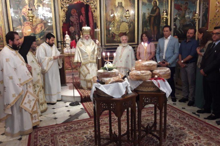 Ο εορτασμός του Αγίου Πνεύματος στην Ι. Μ. Καλαβρύτων