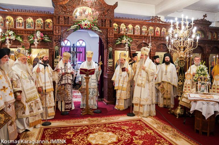 Πολυαρχιερατικό Συλλείτουργο για τον Όσιο Λουκά τον Ιατρό στη Βέροια