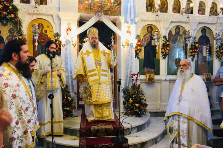 Η εορτή του Αγίου Πνεύματος στην Ιερά Μητρόπολη Λαρίσης