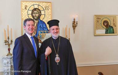 Στον Αρχιεπίσκοπο Αμερικής ο Πρέσβης για θέματα Θρησκευτικής Ελευθερίας