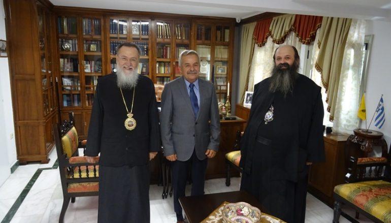 Στον Μητροπολίτη Κορίνθου ο υποψήφιος Βουλευτής Κωνσταντίνος Κόλλιας