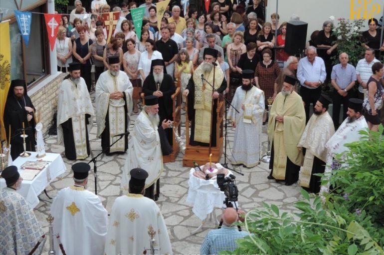 Πανηγύρισε ο Ιερός Ναός Φανερωμένης Άρτης