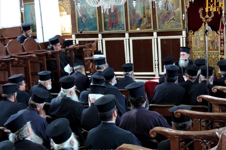 Ιερατική Σύναξη μηνός Ιουνίου στην Ι. Μητρόπολη Άρτης