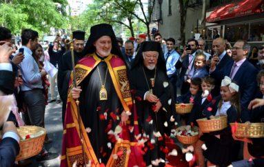 Η Ενθρόνιση του νέου Αρχιεπισκόπου Αμερικής Ελπιδοφόρου