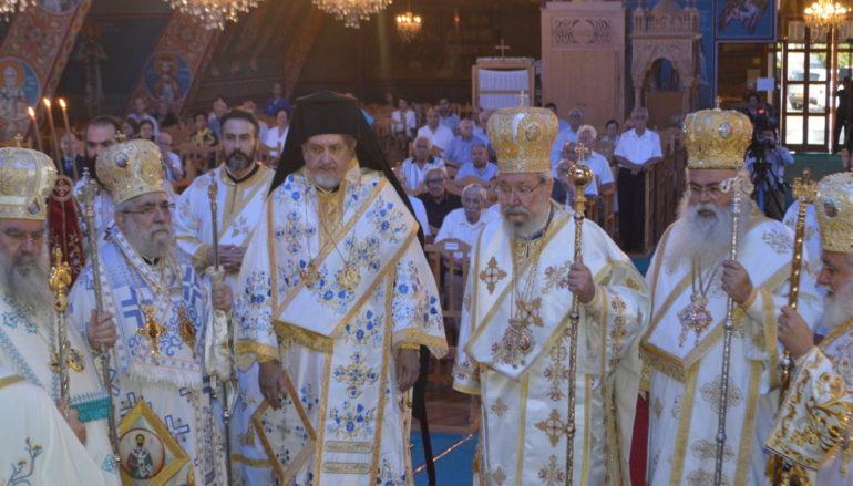 Ο Μητροπολίτης Γαλλίας  στη Θρονική Εορτή της Εκκλησίας της Κύπρου