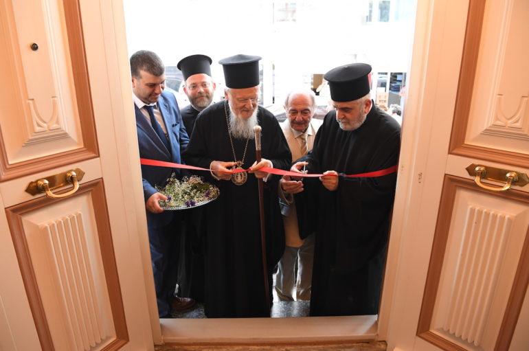 Εγκαίνια του νέου Μητροπολιτικού Οίκουτης Ι. Μητρόπολης Δέρκων
