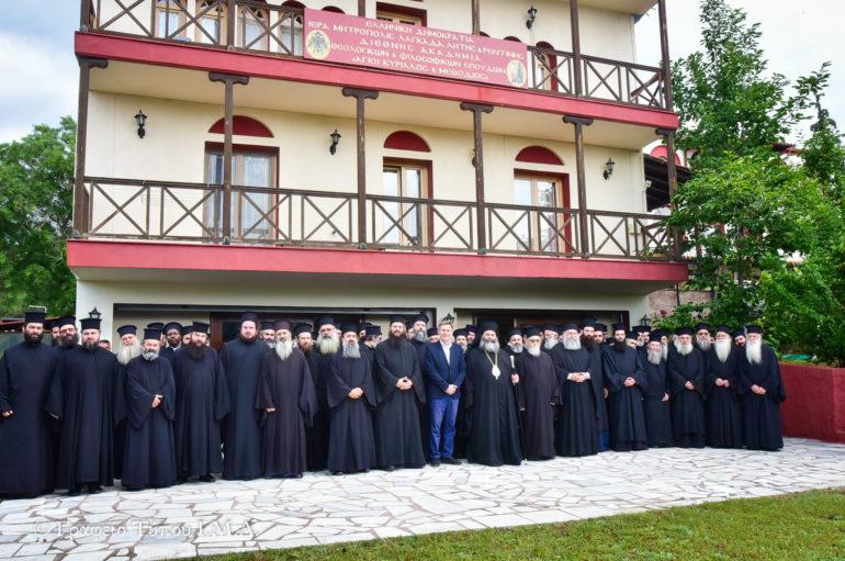 Ιερατική Σύναξη στην Ι. Μητρόπολη Λαγκαδά