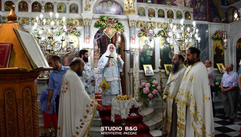 Η εορτή του Αγίου Πνεύματος στην Ι. Μητρόπολη Αργολίδος