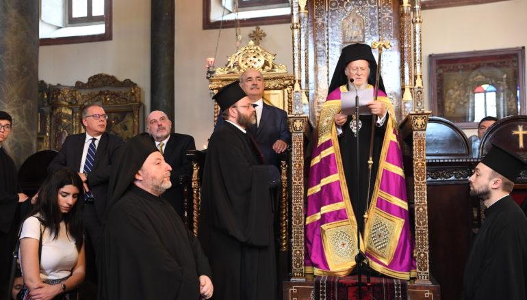 Τα Ονομαστήρια του Οικουμενικού Πατριάρχη Βαρθολομαίου