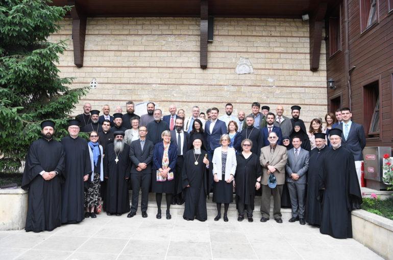 """Ο Οικ. Πατριάρχης κήρυξε την έναρξη εργασιών της Γ΄ Διεθνούς """"Διάσκεψης της Χάλκης"""""""