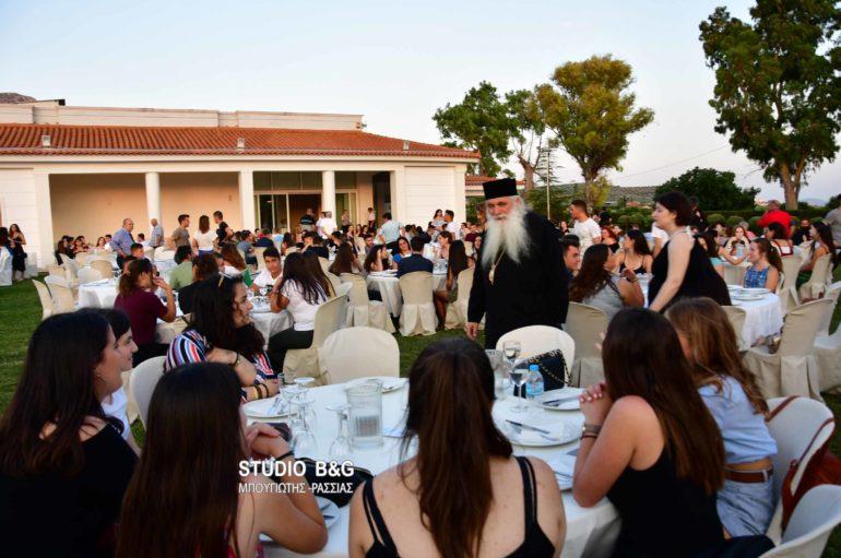 Απόφοιτους μαθητές δεξιώθηκε ο Μητροπολίτης Αργολίδος Νεκτάριος