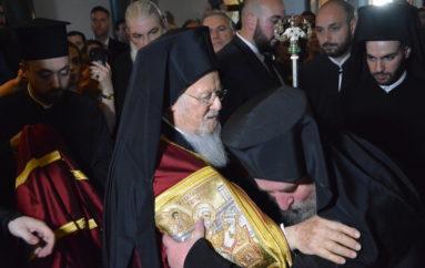 Ενθρονίστηκε ο νέος Ηγούμενος της Ι. Μονής Αγίας Τριάδος Χάλκης
