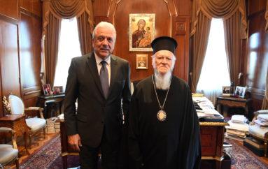 Ο Ευρωπαίος Επίτροπος Δημήτριος Αβραμόπουλος στο Φανάρι