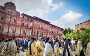 Η Δεσποτική εορτή της Αναλήψεως του Κυρίου στην Ι. Μ. Λαγκαδά