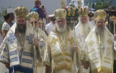 Πολυαρχιερατικό Συλλείτουργο στη Σίφνο για την εορτή της Αναλήψεως