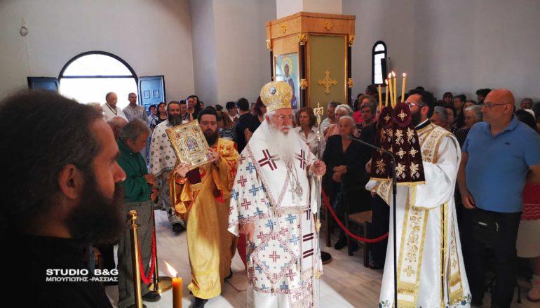 Αρχιερατική Θ. Λειτουργία για τον Άγιο Λουκά στα Λευκάκια Ναυπλίου