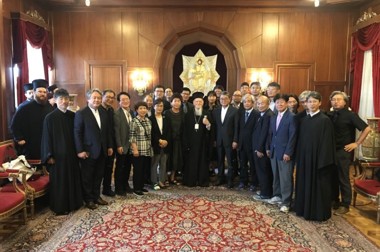 """Οικ. Πατριάρχης: """"Προσευχόμαστε να ενωθούν οι διηρημένοι λαοί"""""""